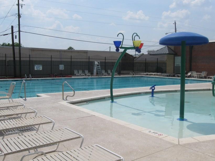 Outside Pool 1